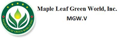 Maple Leaf Green World Inc Cve Mgw Mmj Reporter